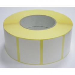 papel continuo 2hojas 240x11 bl - amarillo
